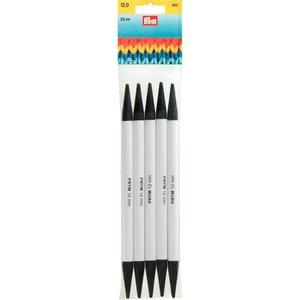 Dubbelspetsade sticknålar av plast grå 23 cm 12