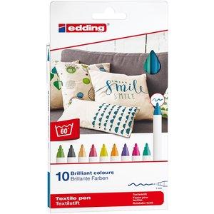 Edding 4600 Textil - Roliga Färger