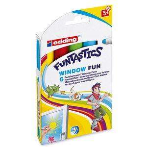 Edding Window Fun - 5 Delar