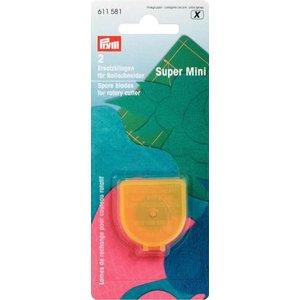 Extra blad för rullkniv Super Mini 2 st
