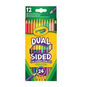 Färgpennor Dual Crayola - 12 pennor