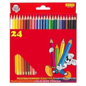 Färgpennor Sense - 24 pennor