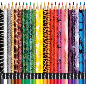 Färgpennset Maped (animal)- 24 Pennor