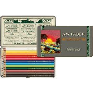 Färgpennset Polychromos 111th anniversary - 12 pennor