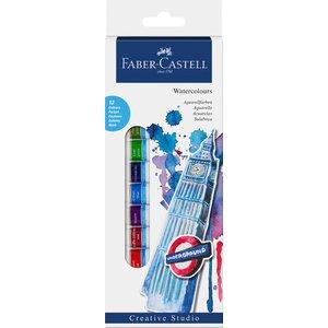 Faber-Castell Akvarellfärgset 12ml - 12 färger