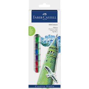 Faber-Castell Oljefärgset 14ml - 12 färger