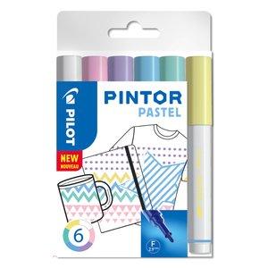 Fiberpennset Pilot Pintor (Pastel Mix) - Fine