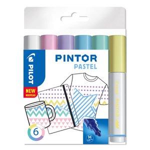 Fiberpennset Pilot Pintor (Pastel Mix) - Medium