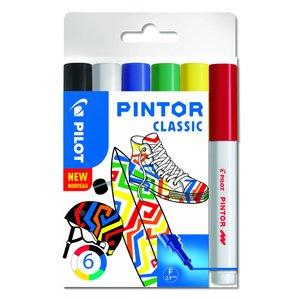 Fiberpennset Pilot Pintor (Regular Mix) - Fine