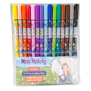 Fineliner Miss Melody - 15 pennor