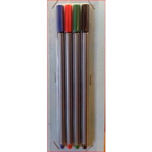 Fineliners - 4-pack