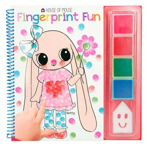 Fingerfärgsbok - House of Mouse