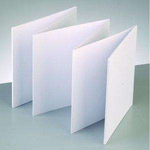 Fotoalbum 15 x 15 cm - Vit 6 ark / 200 g / m²