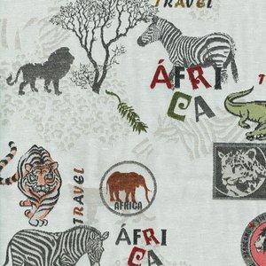 Gardintyg Jaquard Africa