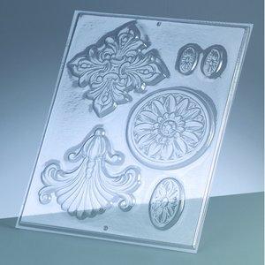 Gjutform - prydnadsföremål 3-10 cm