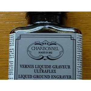 Ground Engraver Ultraflex Charbonnel Ink. Medium - 75 ml