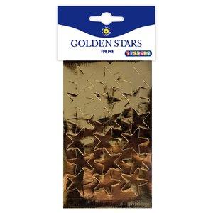 Guldstjärnor 108 st 25 mm