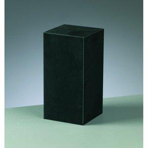 Gummiblock 5 x 5 x 10 cm - svart