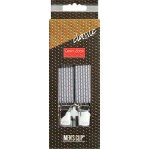 Hängslen Classic 110cm 25mm mörkgrå
