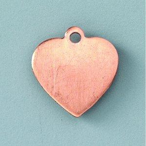 Hängsmycke 16 x 15 mm - hjärta
