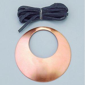 Halsbandsdel ø 68 mm - 1 st runda kupade