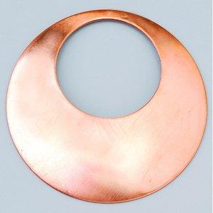 Halsbandsdel ø 68 mm - rund kupad