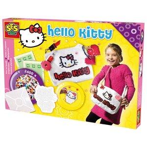Hello Kitty väskdekor - Dekorera din väska med pärlor