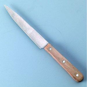 Kniv för lerskärning 175 mm - 1 st. träskaft