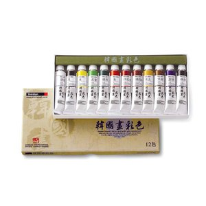 Korean Artist Color Shinhan 20ml 12st