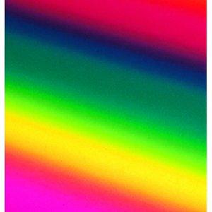 Kräppapper 50 x 250 cm - regnbågsfärg