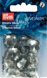 Kreativ Dekor fastsys 18 mm ljus grå 14 st