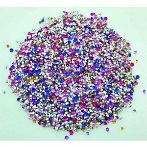 Kristallstenar för ringar och berlocker 4 mm - 5000 st