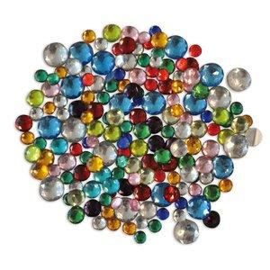 Kristallstenar små runda