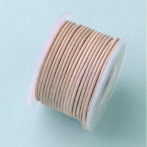 Läderband ø 1 mm