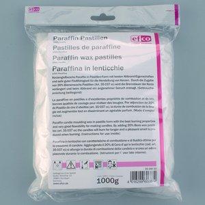 Ljusvax - Paraffin för stöpning - 1000g - 54°C
