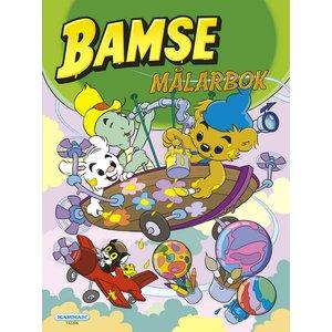 Målarbok Bamse