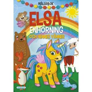 Målarbok Elsa Enhörning
