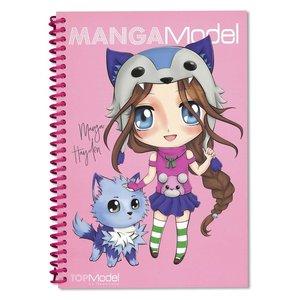 Målarbok MANGAModel - Manga Candy