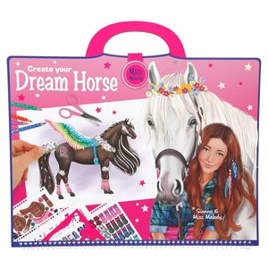 Målarbok Miss Melody - Create your Dream Horse