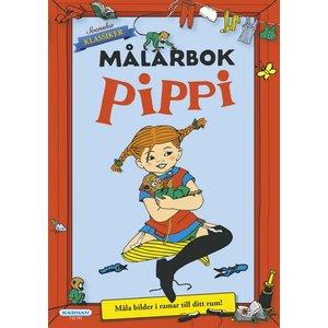 Målarbok Pippi