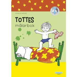 Målarbok Totte