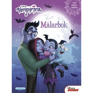 Målarbok Vampyrina