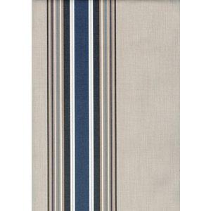 Markisväv Kristina - Blå/vit - 132 cm