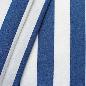 """Markisväv och dekortyg """"Streck"""" Toldo Blå-Vit  - 160 cm"""