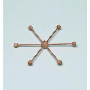 Mobilstjärna ø 22 cm - obehandlat
