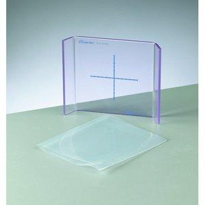 Moldplatta mini press 10 x 10 cm - klar
