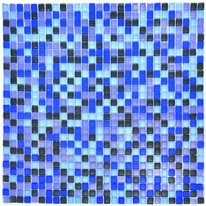 Mosaik Blå 10 mm - 784 st
