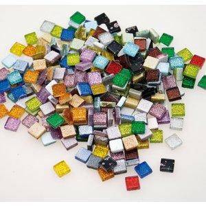 Mosaikstenar glitter