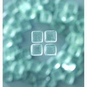 MosaixSoft - glasmosaik 10 x 10 mm - transparent 200 g ~ 215 st.
