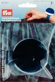 Nåldyna för arm med kardborreband blå